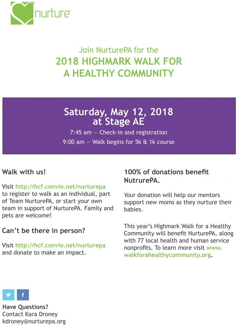 NurturePA Highmark Walk