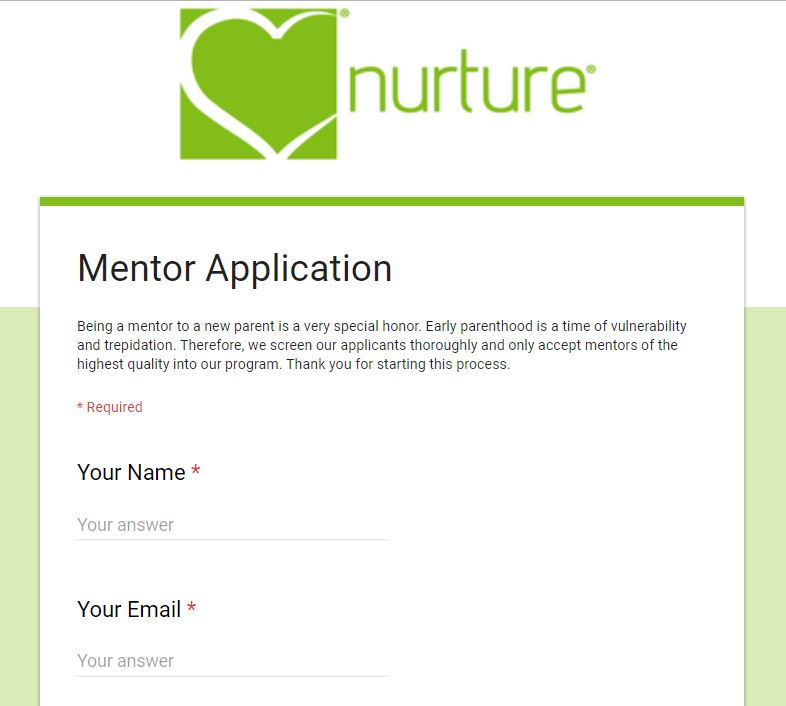 mentor application image